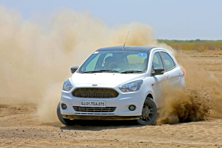 2017 ford figo s test drive review action image