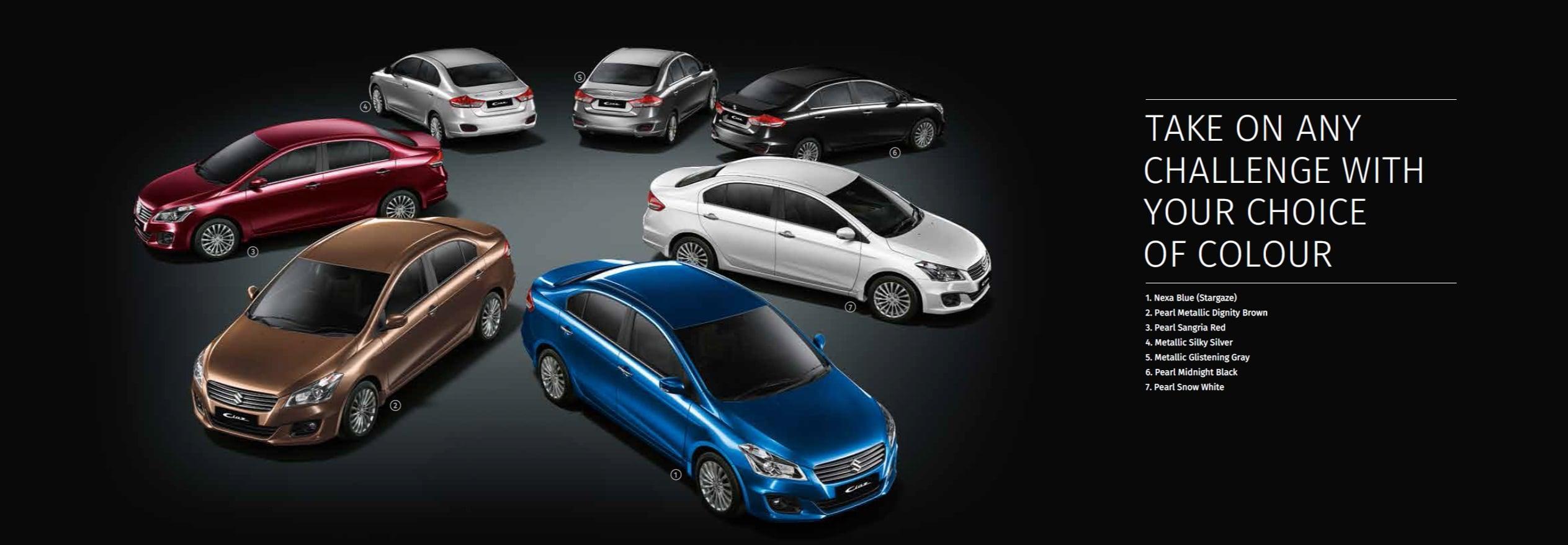 2017 Maruti Suzuki Ciaz Nexa Price Specifications