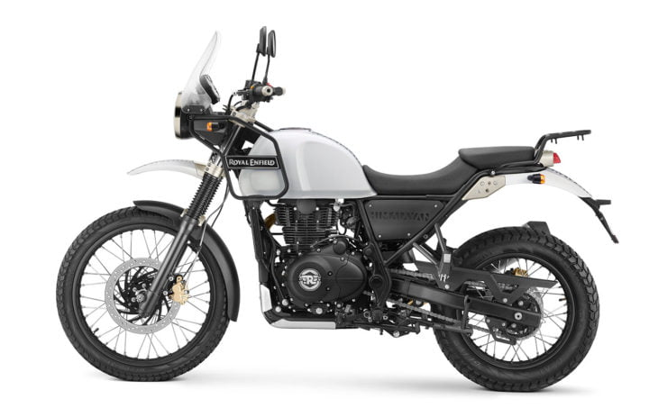 2017 royal enfield himalayan fuel injection snow white