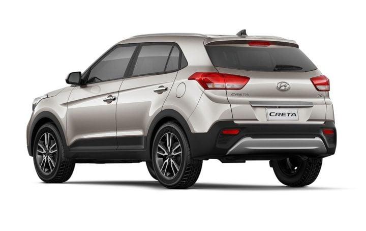 2018 hyundai creta facelift rear angle