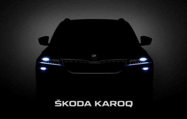 2018 skoda karoq teaser image
