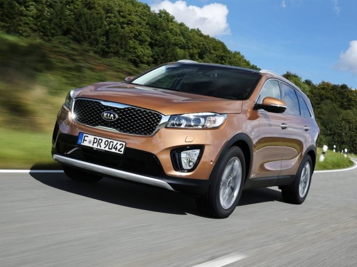 Kia Sorento India Launch Images