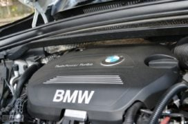 bmw x1 review images engine