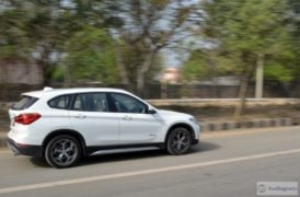 bmw x1 review images side action shot