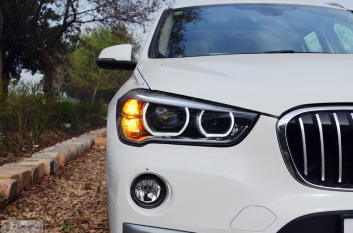 bmw x1 test drive review india images front headlights