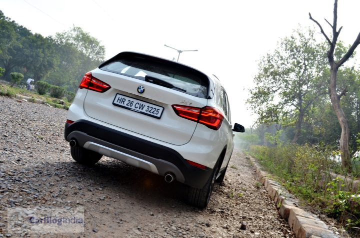 bmw x1 review india images rear