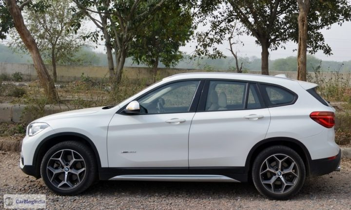 bmw x1 review india images side