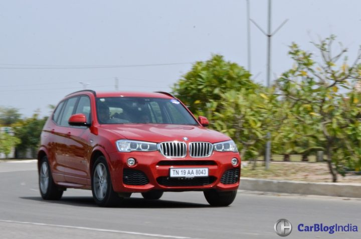 bmw x3 m sport test drive review