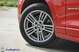 bmw x3 test drive review alloy wheels