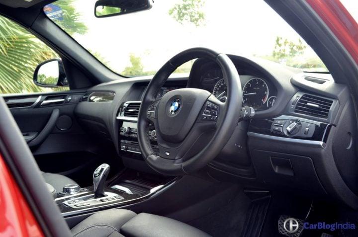 bmw x3 m sport test drive review interiors