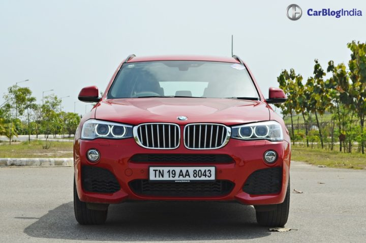 bmw x3 m sport test drive review front