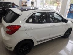 ford figo s images side rear white 2