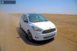 ford figo s test drive review images