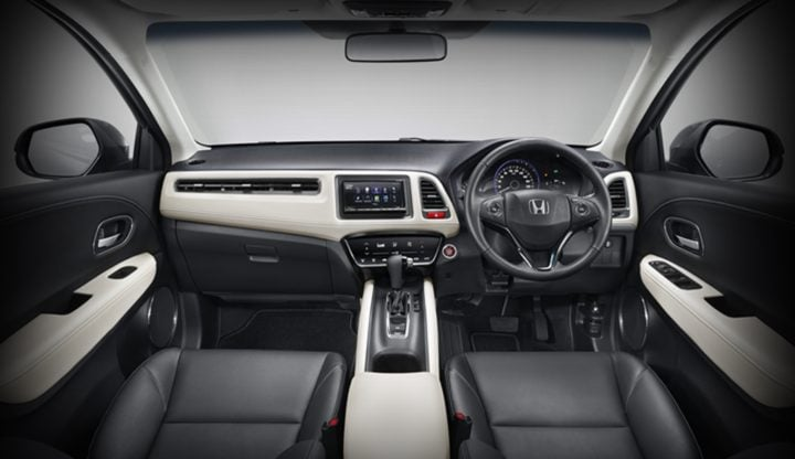 honda hrv india official image interiors