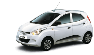 hyundai eon sports edition front angle