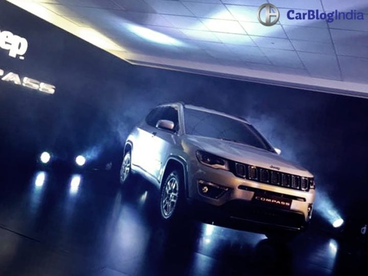 jeep compass india unveil 1