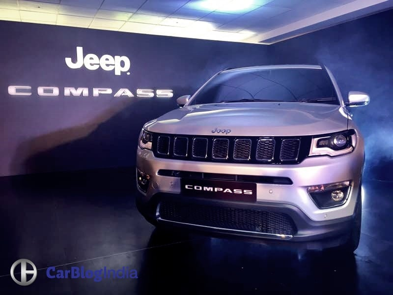 jeep compass india unveil 2