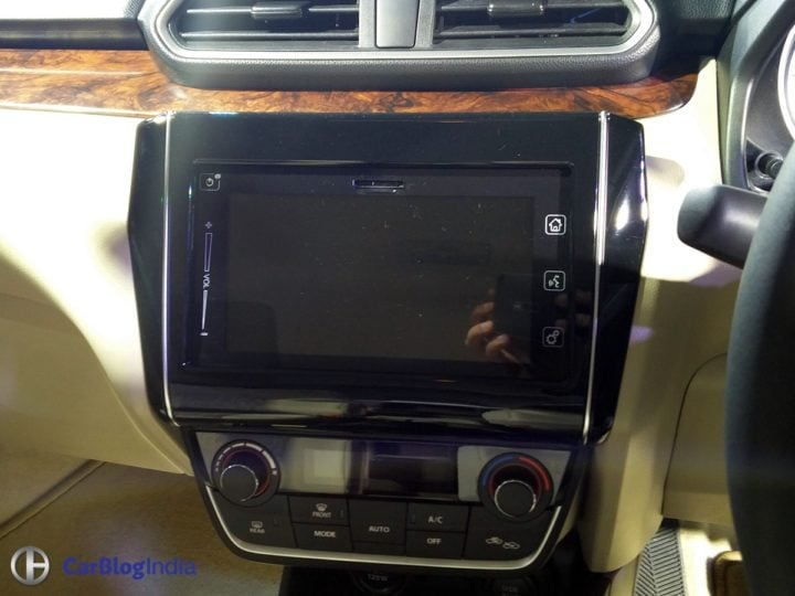 new look maruti dzire 2017 touchscreen AVN