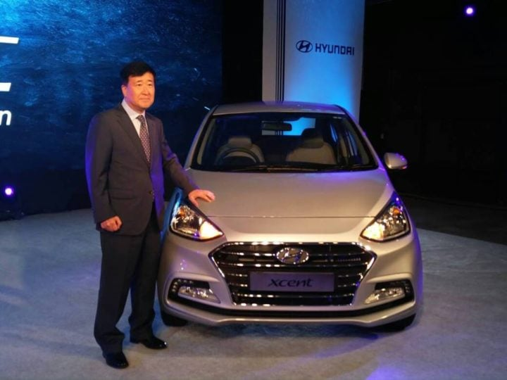 new look hyundai xcent 2017 launch image