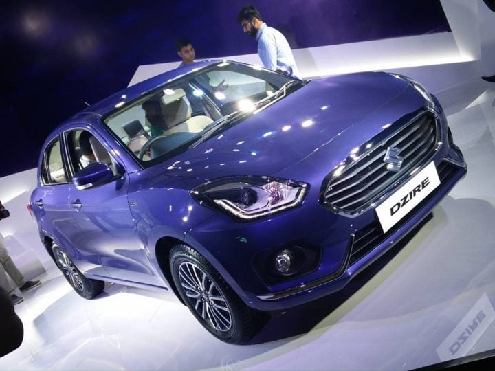 new look maruti dzire 2017 images front angle