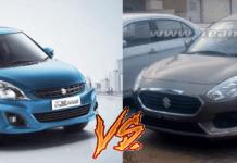 new vs old maruti dzire comparison
