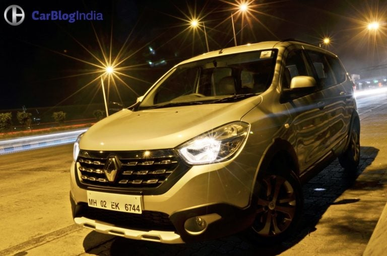 Renault Lodgy Stepway Night Drive Experience – The Dark Horse!