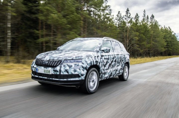 upcoming skoda cars in india skoda karoq suv india images