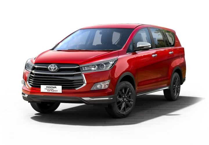 Toyota Innova Crysta Touring Sport Price Features Images