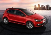 volkswagen polo gt sport front angle