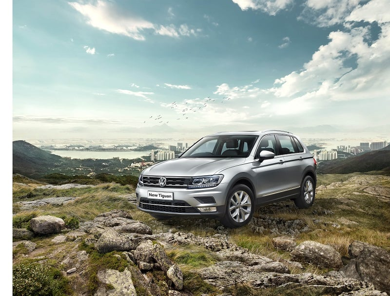 Volkswagen Tiguan India launch