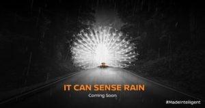 2017 Nissan Micra facelift rain sensing wipers