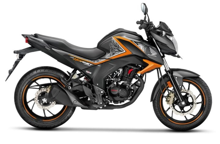 2017 honda cb hornet 160r mars orange