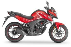 2017 honda cb hornet 160r sports red
