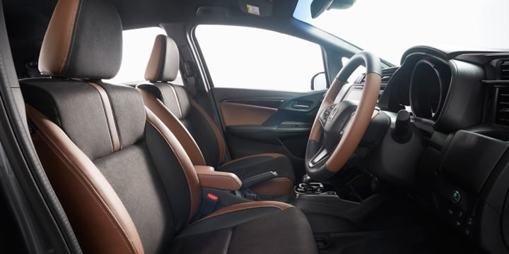 new 2017 honda jazz facelift interiors