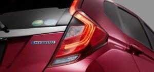 new 2017 honda jazz facelift tail light