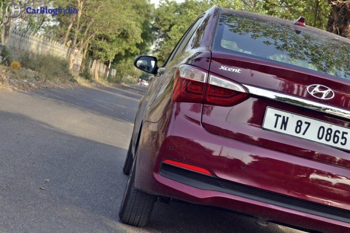 2017 hyundai xcent facelift test drive review