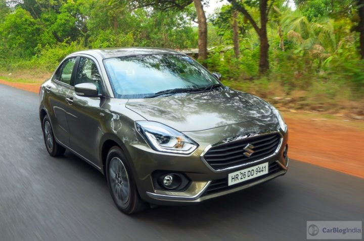 Best Mileage Automatic Cars - Maruti Swift DZire Diesel AMT