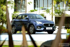 2017 maruti dzire test drive review images