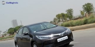 2017 toyota corolla altis test drive review front angle