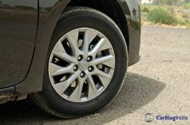 2017 toyota corolla altis test drive review alloys