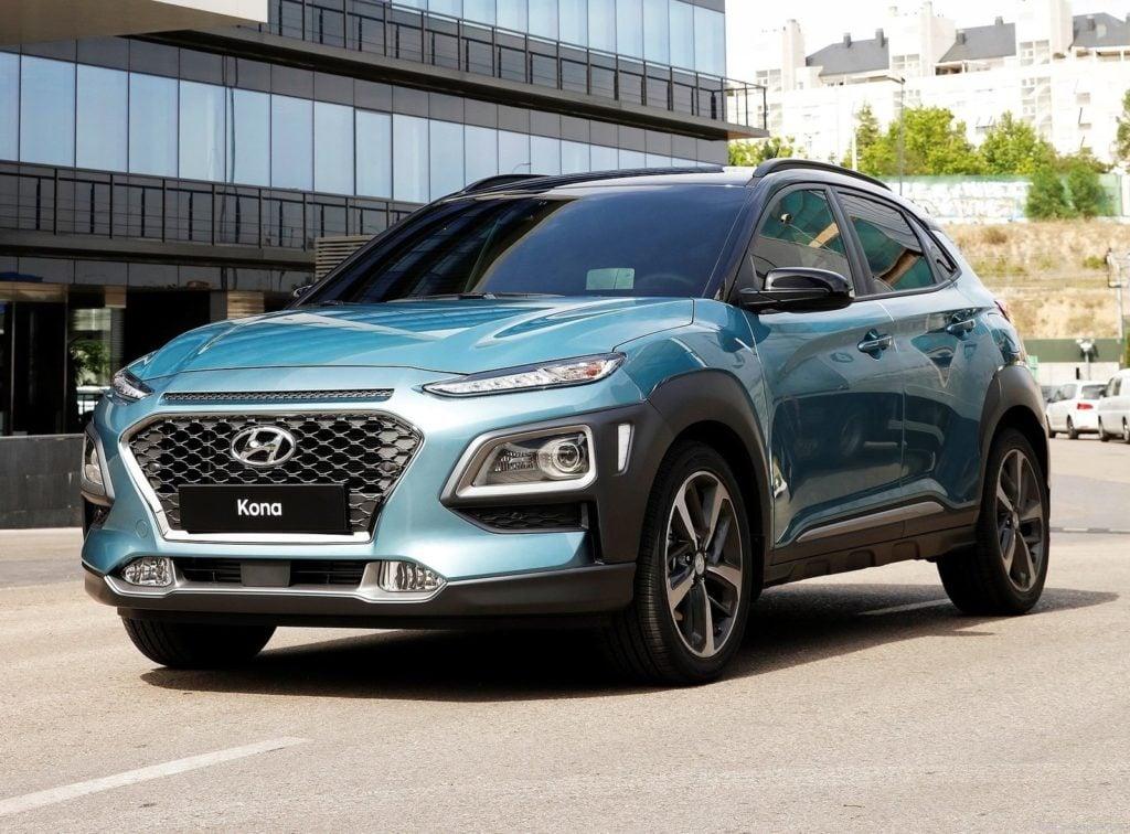 Hyundai Kona India - Images Front Angle