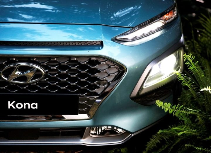 Hyundai Kona SUV India - Images Front Headlight