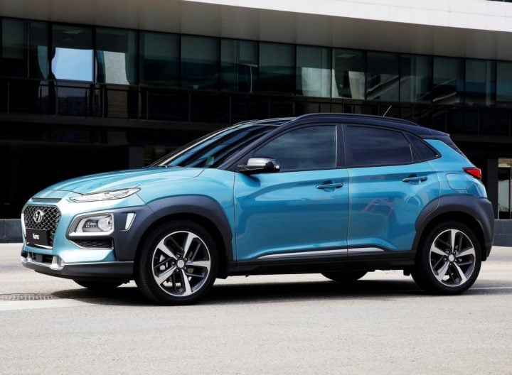 Hyundai Kona SUV India - Images Side Profile