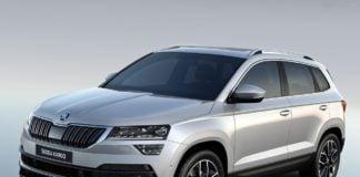 2018 skoda karoq SUV images front angle 1
