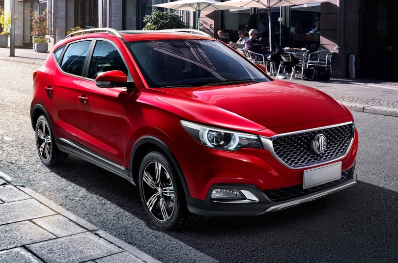 mg cars in india mg xs