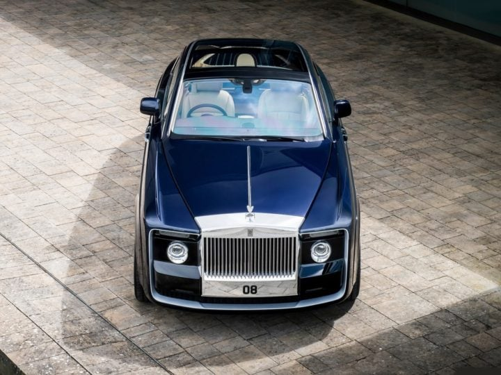Costliest car in the world - Rolls Royce Sweptail images front