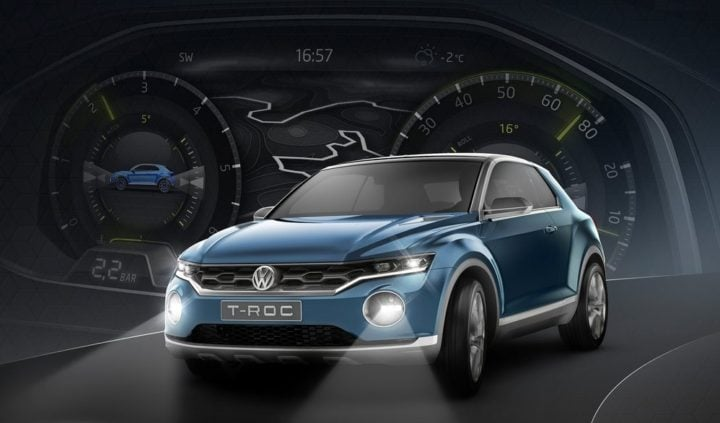 Volkswagen T-Roc SUV Concept Images