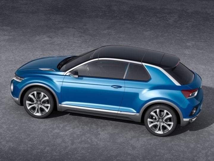 volkswagen cars at auto expo 2018 Volkswagen T Roc SUV Concept Images side profile