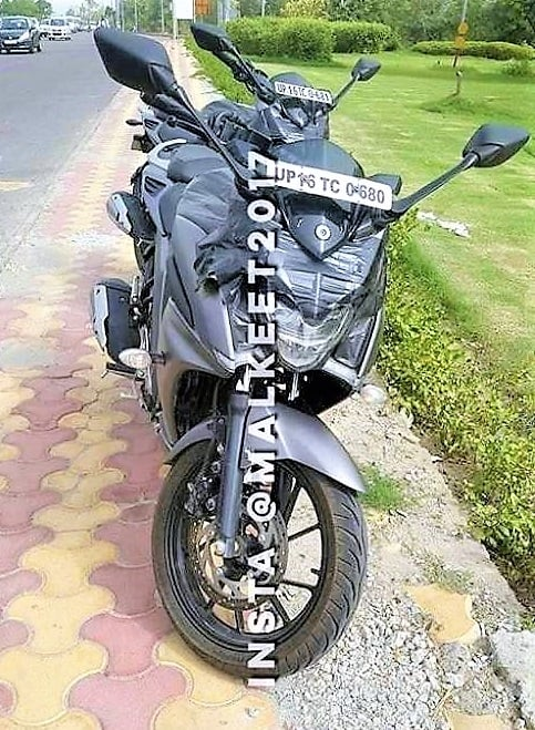 Yamaha Fazer 250 SPIED!