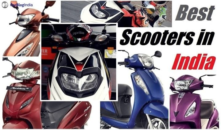 best scooter in india 2017 images